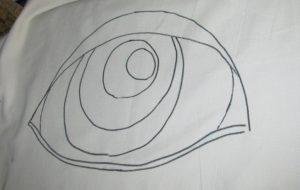Náčrtek oka a odlesku - Josef Mareyi