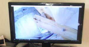 Pozorování vlaštovčího hnízda běžnou web kamerou - foto Josef Mareyi